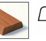 Lijstwerk koplatten Model B